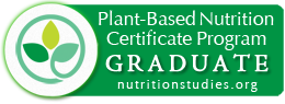 Plant-Based Nutrition Certificate Program Graduate - nutritionguides.org